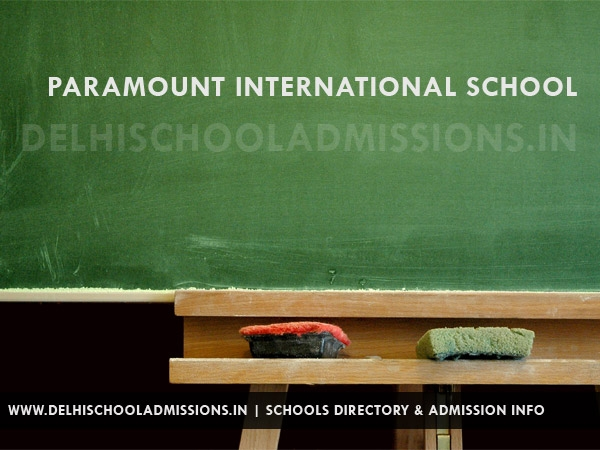 Paramount International School