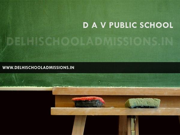 DAV Public School Paschim Vihar