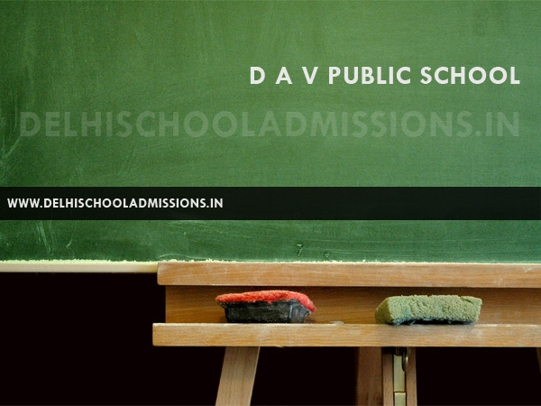 DAV Public School, Dayanand Vihar