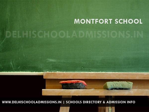 Montfort School -  Ashok Vihar Delhi