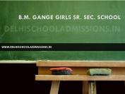 B.M. Gange Girls Sr. Sec. School
