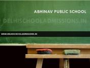 Abhinav Public School Pitampura